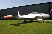 21417 @ EGYK - Canadair CT-133 Silver Star 3 (CL-30) at The Yorkshire Air Museum, Elvington, UK in 2010. - by Malcolm Clarke