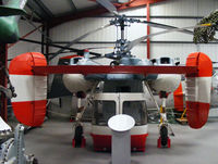 D-HOAY @ X2WX - Kamov Ka-26 Hoodlum at The Helicopter Museum, Weston-super-Mare - by Chris Hall
