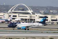XA-UBV @ KLAX - Airbus A318
