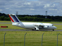 EI-RJH @ EGPH - Cityjet RJ85  At EDI - by Mike stanners