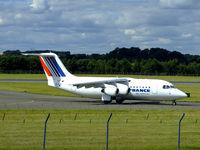EI-RJH @ EGPH - Cityjet RJ85 Arrives At EDI - by Mike stanners