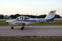 N2489K @ LAL - Piper PA38