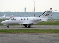 D-ISIO @ LFBO - Taxiing holding point rwy 32L for departure... - by Shunn311