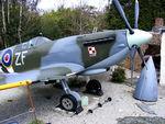 BAPC268 @ EGDG - Supermarine Spitfire IX Replica - by Chris Hall
