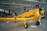 CF-UZW - North American (Canadian Car & Foundry) T-6 Harvard IV at the Canadian Warplane Heritage Museum, Hamilton Ontario - by Ingo Warnecke