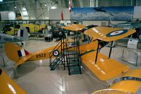 C-GCWT - DeHavilland D.H.82C Tiger Moth at the Canadian Warplane Heritage Museum, Hamilton Ontario - by Ingo Warnecke