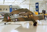 C-FKLD - Beagle-Auster A.61 Terrier at the Canadian Warplane Heritage Museum, Hamilton Ontario - by Ingo Warnecke