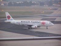 D-ARFE @ EDDL - Eintracht Frankfurt - by edd