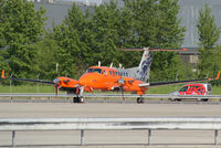 D-CFME @ VIE - Flight Calibration Services Beech 350 Super King Air - by Joker767