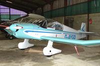 G-AYGD @ EGTW - 1963 Centre Est Aeronautique JODEL DR1051 (MODIFIED) at Oaksey Park