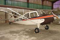 G-AKTR @ EGTW - Smart 1946 Aeronca Aircraft Corporation AERONCA 7AC at Oaksey Park