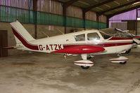 G-ATZK @ EGTW - 1966 Piper PIPER PA-28-180 at Oaksey Park