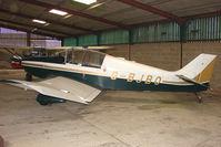 G-BJBO @ EGTW - 1966 Centre Est Aeronautique JODEL DR250/160 at Oaksey Park