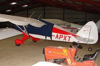 G-APXT @ EGTW - 1956 Piper PIPER PA-22-150  at Oaksey Park