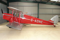 G-ADNE @ EGTW - 1936 De Havilland DH87B HORNET MOTH