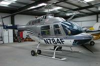 N784F @ EGTW - Bell 206B