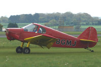 G-BGMJ @ EGBP - 1952 Constructions Aeronautique De Bearn MINICAB GY 201 at the Great Vintage Flying Weekend at Kemble