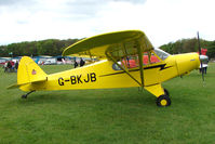 G-BKJB @ EGBP - at the Great Vintage Flying Weekend at Kemble