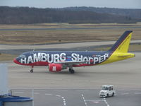 D-AKNI @ EDDK - Let's shop in Hamburg