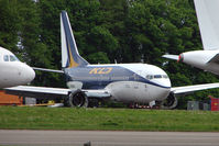 VP-BJX @ EGBP - KD Avia B737 One of the aircraft awaiting the scrapman's axe at Kemble