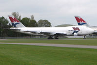G-MKCA @ EGBP - Mk Airlines Jumbo in storage at Kemble
