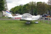 G-CEFZ @ EGBP - 2006 Cosmik Aviation Ltd EV-97 TEAMEUROSTAR UK noted at Kemble on Vintage Aircraft Fly-In day