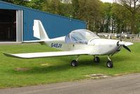 G-KEJY @ EGBP - 2004 Cosmik Aviation Ltd EV-97 TEAMEUROSTAR UK - noted at Kemble on Vintage Aircraft Fly-In day