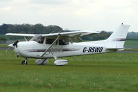 G-RSWO @ EGBP - 1997 Cessna CESSNA 172R - noted at Kemble on Vintage Aircraft Fly-In day