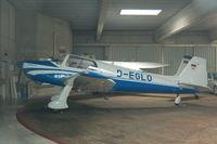 D-EGLO @ EDLP - Inside hangar