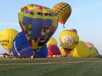 OE-ZMM @ EDLP - Balloons starting at Paderborn-Lippstadt Airport