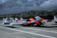 J-1124 @ LSMS - In 1990 many Swiss Vampires were stored at Sion pending their sale. - by Joop de Groot
