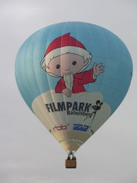 D-OFPB @ WARSTEIN - New balloon to promote Babelsberg Filmpark - by ghans