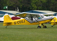 G-CEEJ @ EGBP - at the Great Vintage Flying Weekend - by Chris Hall