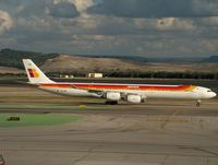EC-IOB @ LEMD - Iberia long 340 - by ghans