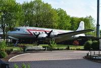 44-9063 @ EDDF - Memorial to the Berlin Airlift 1948/9 - by Noel Kearney