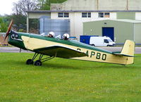 G-APBO @ EGBP - at the Great Vintage Flying Weekend - by Chris Hall
