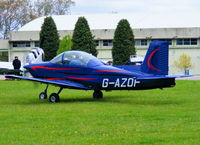 G-AZOF @ EGBP - at the Great Vintage Flying Weekend - by Chris Hall