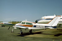 N6966L @ FRG - Cessna 310K resident at Republic Airport on Long Island in the Summer of 1977. - by Peter Nicholson