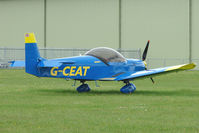 G-CEAT @ EGBP - 2006 Smith Tb ZENAIR CH 601HDS at the Great Vintage Flying Weekend at Kemble
