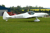 G-TWSS @ EGBP - at the Great Vintage Flying Weekend at Kemble