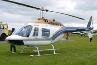 G-OPEN @ EGBP - 1994 Bell Helicopter Textron BELL 206B at the Great Vintage Flying Weekend at Kemble