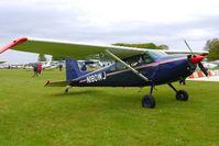 N180WJ @ EGBP - Cessna 180K at Kemble
