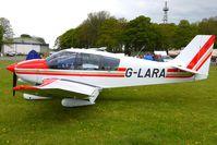G-LARA @ EGBP - 1991 Avions Pierre Robin PIERRE ROBIN DR400/180 at Kemble