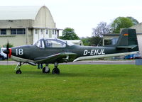 D-EHJL @ EGBP - at the Great Vintage Flying Weekend - by Chris Hall