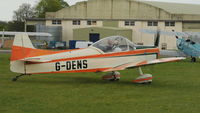 G-DENS @ EGBP - 2. G-DENS at Kemble Airport (Great Vintage Flying Weekend)