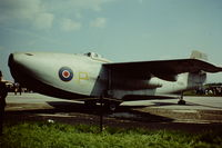 TG263 @ EGBJ - Prototype aircraft seen at the Skyfame Museum, Staverton Airport in 1969 - by Roger Winser