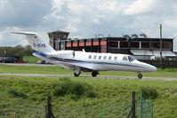 D-IEVB @ EGGW - 2006 Cessna 525A CitationJet CJ2+,  at Luton - by Terry Fletcher
