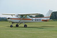G-BNMF @ EGLS - 1982 Cessna CESSNA 152 at Old Sarum Airfield