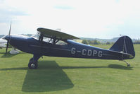 G-CDPG @ EGLS - 2005 Groves P CROFTON AUSTER J1-A at Old Sarum Airfield