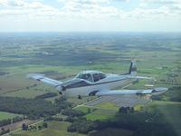 C-FWWB - Flying over Southern Ontario - by Jackie Hill